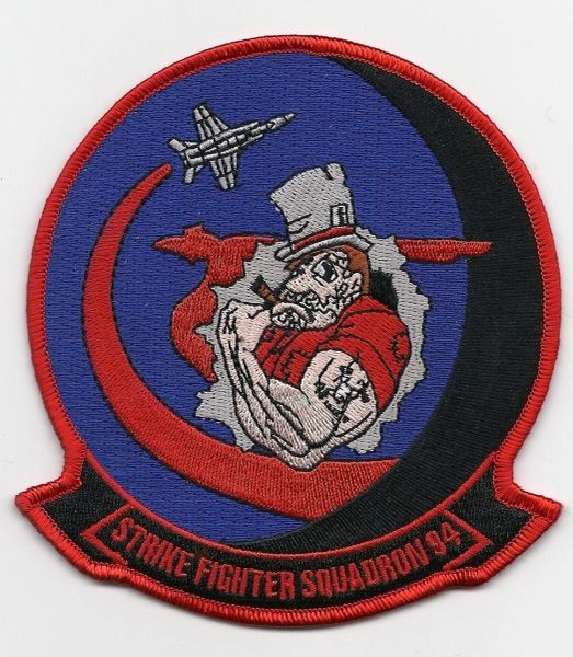 USN Strike Fighter Squadron VFA-94 patch