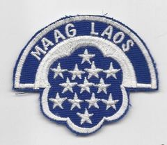 US Army Military Assistance Advisory Group Laos patch