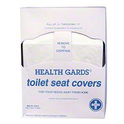 HOSPECO® Health Gards® Quarter Fold Toilet Seat Cover