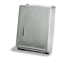 Combo Towel Cabinet - Silver
