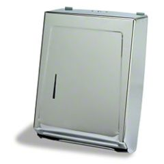 Combo Towel Cabinet - Chrome