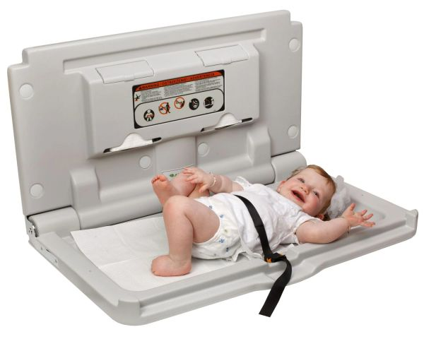 HORIZONTAL BABY CHANGING STATION 411