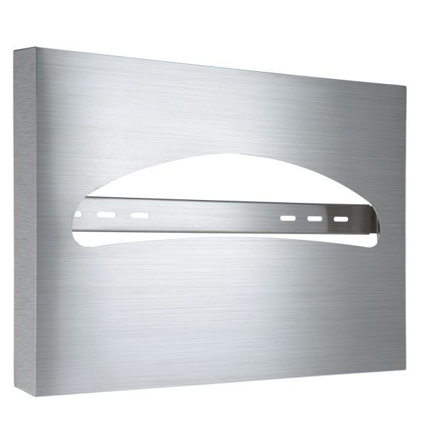 TOILET SEAT COVER DISPENSER, STAINLESS STEEL BRUSHED