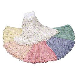 Golden Star® Quality Colors Standard Wet Mops 24oz 12/cs