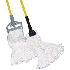 Golden Star® Standard Style Sno-White Rayon Wet Mops 24oz 12/cs