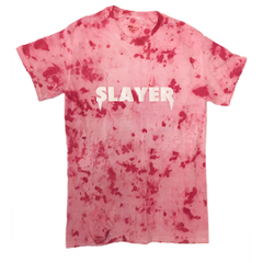Slayer T-Shirt - Pink Burgundy