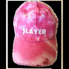 Slayer Dad Hat - Hot Pink