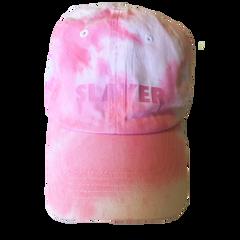 Slayer Dad Hat - Pink White
