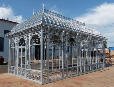 Antique White Iron conservatory