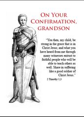 C608 ON YOUR CONFIRMATION, GRANDSON