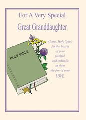 C610 FOR A VERY SPECIAL GREAT-GRANDDAUGHTER