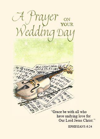 N501 A PRAYER ON YOUR WEDDING DAY