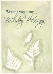 BD12 A TRADITIONAL GAELIC BIRTHDAY BLESSING