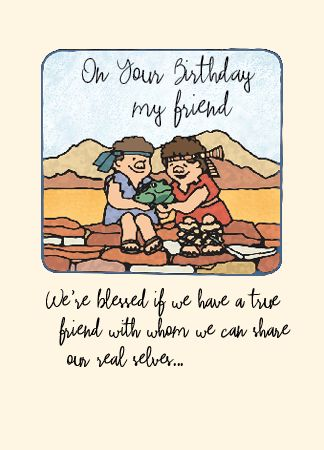 BD18 ON YOUR BIRTHDAY, MY FRIEND