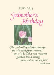 BD200 For My Godmother's Birthday