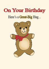 BD300 On Your Birthday, Here's a Great-Big Hug