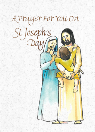 CE340 A PRAYER FOR YOU ON ST. JOSEPH'S DAY