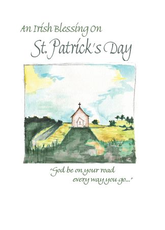 CE351 AN IRISH BLESSING ON ST. PATRICK'S DAY