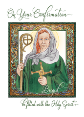 CN137 ON YOUR CONFIRMATION - BRIGID