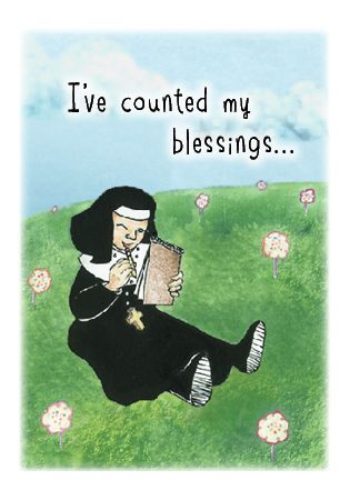 NUNS28 I'VE COUNTED MY BLESSINGS...