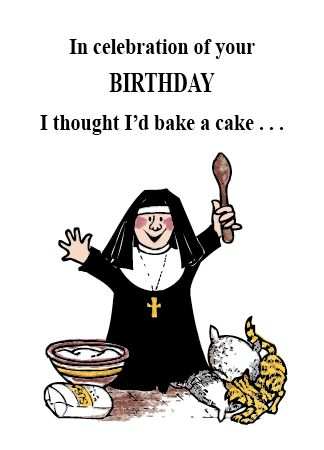 NUNS 2 IN CELEBRATION OF YOUR BIRTHDAY