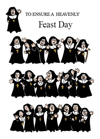 NUNS23 TO ENSURE A HEAVENLY FEAST DAY