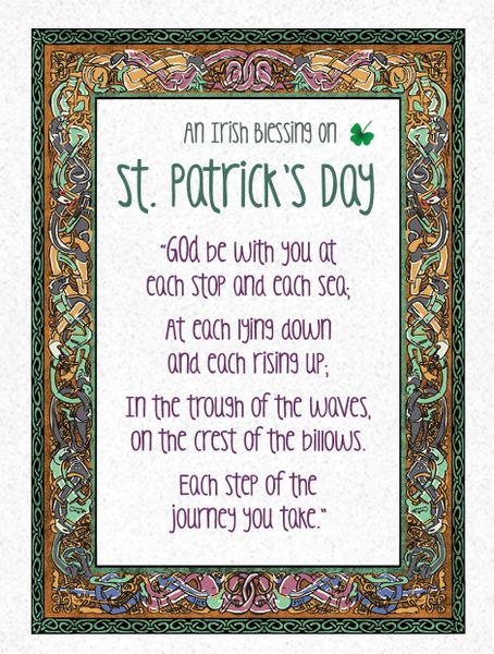 CE354 A PRAYER FOR YOU ON ST. PATRICK'S DAY
