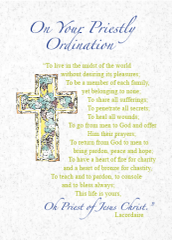 DO204 ON YOUR PRIESTLY ORDINATION