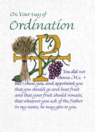 DO205 ON YOUR DAY OF ORDINATION