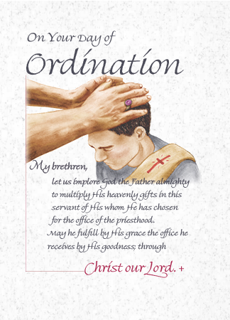 DO210 ON YOUR DAY OF ORDINATION