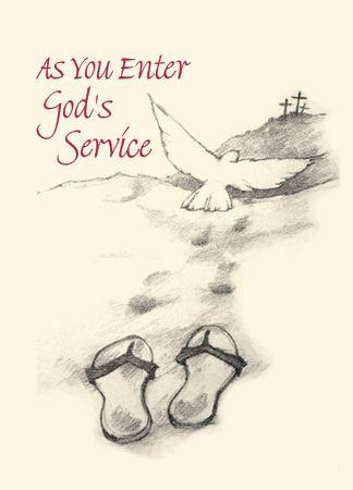 LS102 AS YOU ENTER GOD'S SERVICE