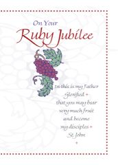 CE323 ON YOUR RUBY JUBILEE - 40 YEARS