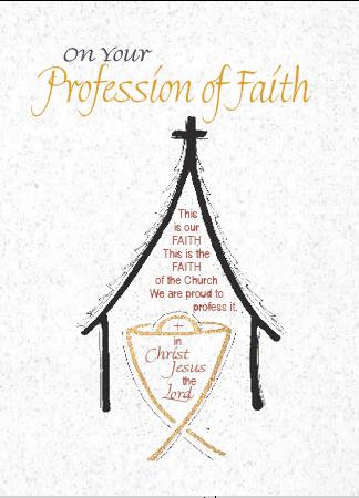 C900 RCIA - PROFESSION OF FAITH