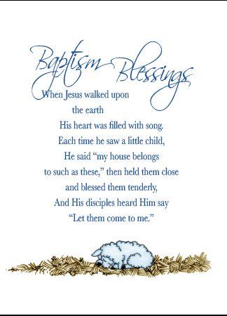 N905 BAPTISM BLESSINGS - BOY
