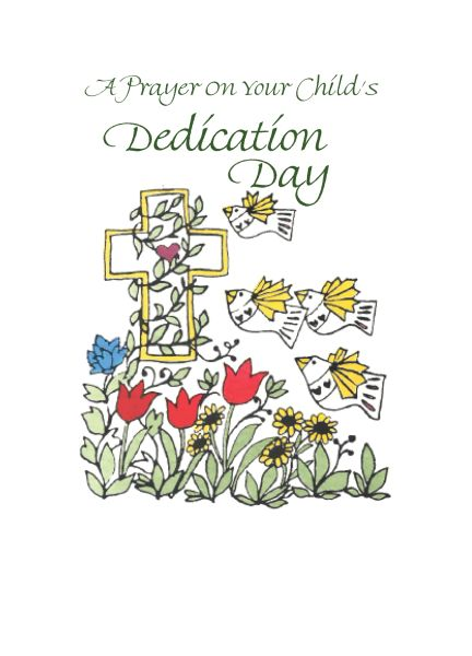 D102 A PRAYER ON YOUR CHILD'S DEDICATION DAY