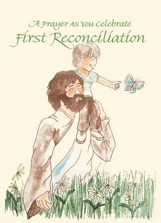 FP200 A PRAYER AS YOU CELEBRATE FIRST RECONCILIATION