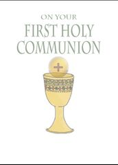 N702 ON YOUR FIRST HOLY COMMUNION