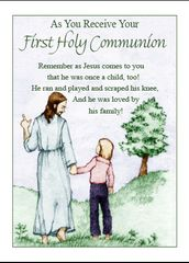 N710 AS YOU RECEIVE YOUR FIRST HOLY COMMUNION