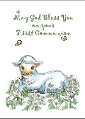 N745 MAY GOD BLESS YOU ON YOUR FIRST COMMUNION