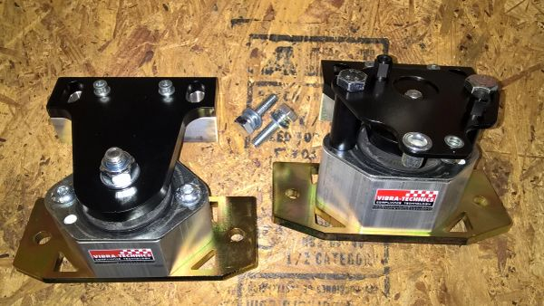 MK4 R32 / Golf & Jetta VR6 w/Manual Trans Vibra Technics Upper Engine Mount Set