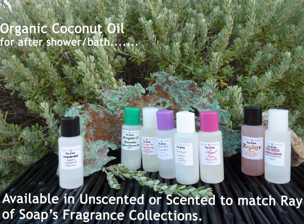Organic Coconut Oil ~ After Shower & After Bath Oil