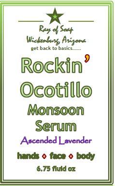 Rockin' Ocotillo Ascended Lavender Monsoon Serum