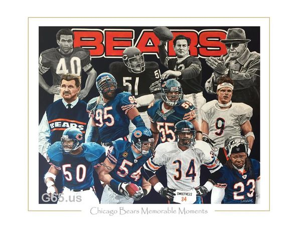 "Chicago Bears ""Memorable Moments"""