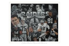 "Oakland Raiders ""Memorable Moments"""