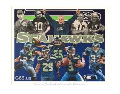 "Seattle Seahawks ""Memorable Moments"""