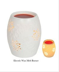 White Ceramic Electric Wax Warmer