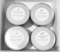 Candle Tin Gift Set