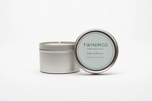 Cedar & Jasmine Candle Tin