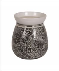 Midnight crackle effect electric wax warmer