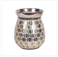 Gold & Silver Moon Electric Wax Warmer
